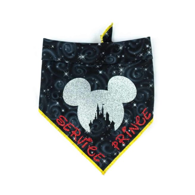 Mickey and Minnie Mouse Dog Bandanas