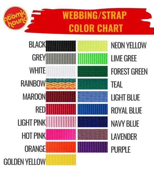 WEbbingcolorchart