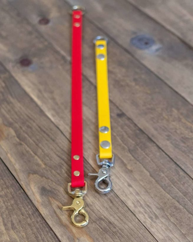 Red and Yellow Waterproof Dog Leash Extenders