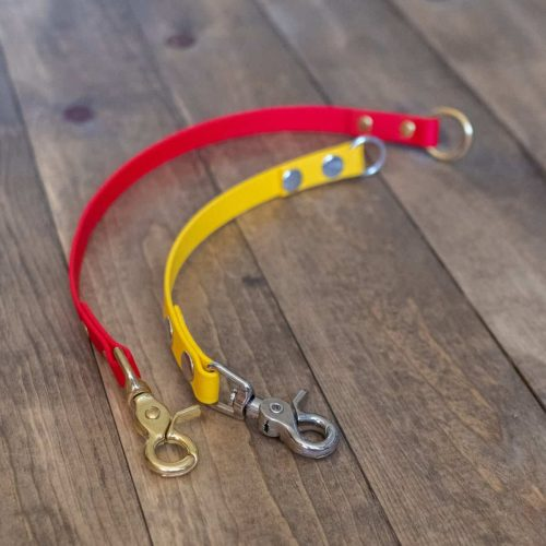 Red and Yellow Waterproof Dog Leash Extender