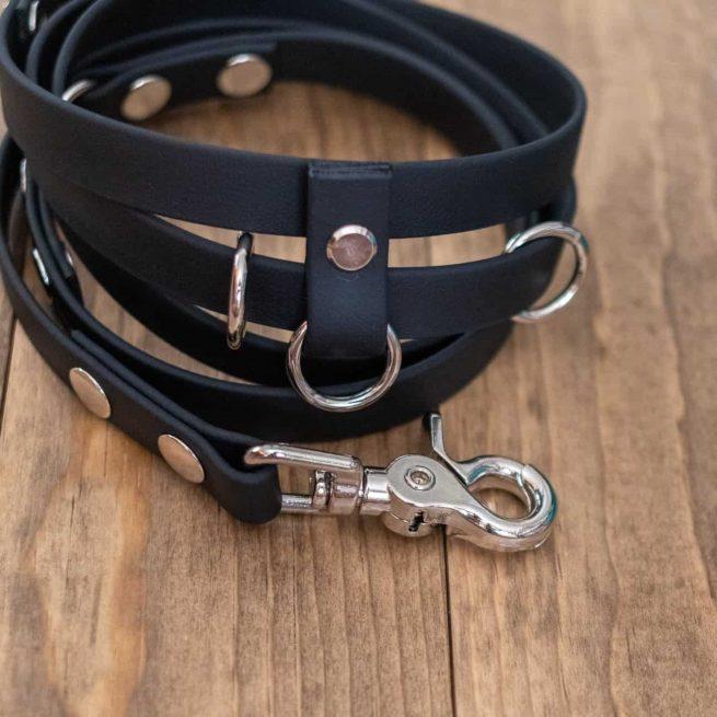 Black 9-Way Hands-Free Dog Leash