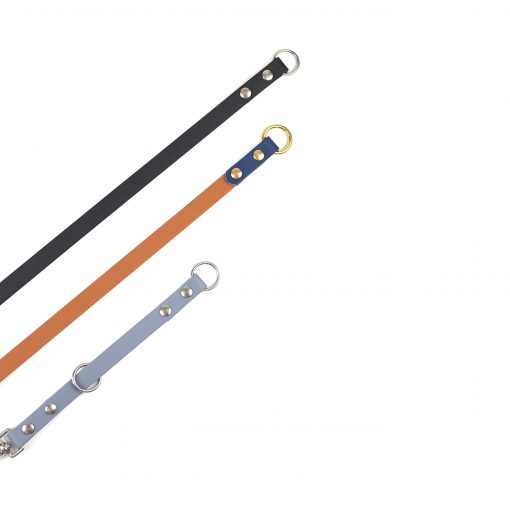 Navy, Caramel and grey leash extenders