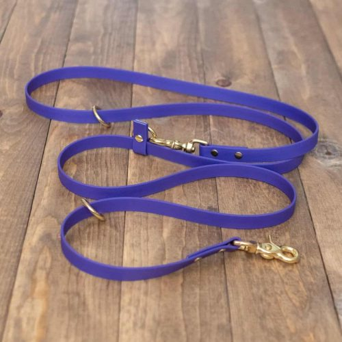 Purple Custom Adjustable Dog Leash