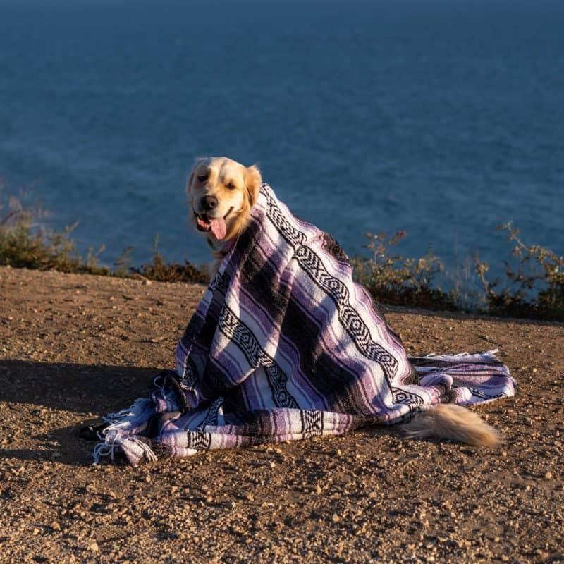 Lavender Tulum Blanket
