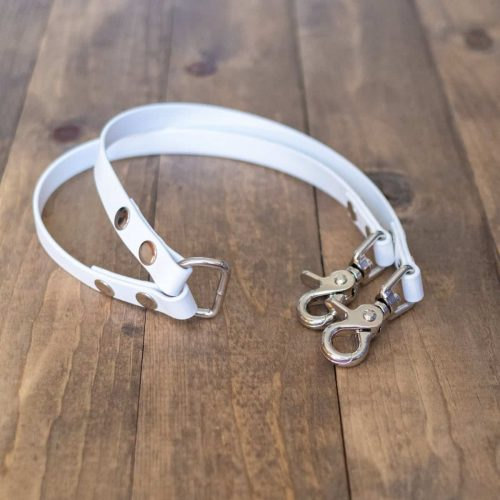 White Dog Leash Coupler