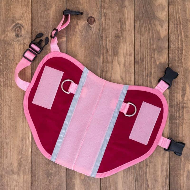 Service Dog Vest: Girth 20.5″-23″ (Pre-Made)