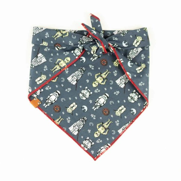 BB8 and C3PO Star Wars Dog Bandana