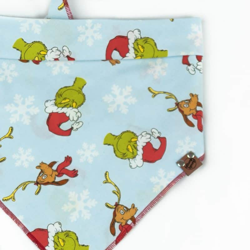 The Grinch And Max Dog Bandana