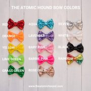 Color Options for Mouse Ear Bows