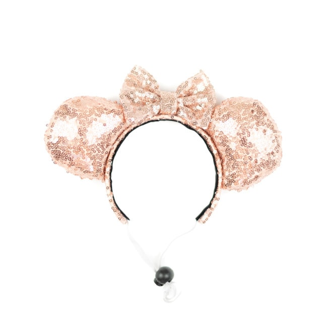 Red Mouse Ears, Rose Gold Mouse Ears, Lavender Mouse Ears, Black Mouse Ears-Disney Parks