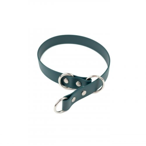 forest green full slip collar in stainless steel