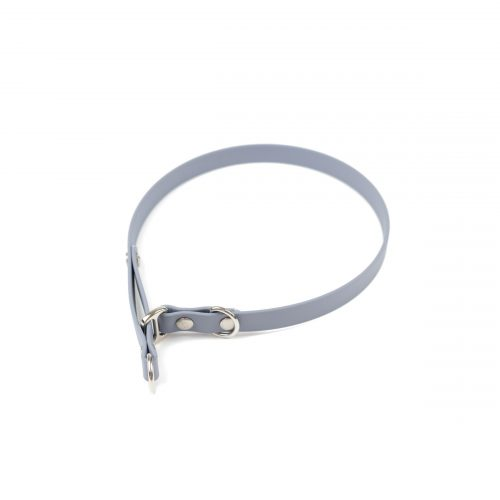 "grey 5/8"" classic limited slip collar in stainless steel"