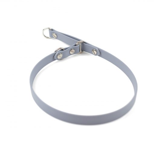 """grey 5/8"""" classic limited slip collar in stainless steel"""