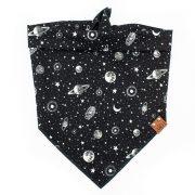 Astra galaxy glow in the dark dog bandana