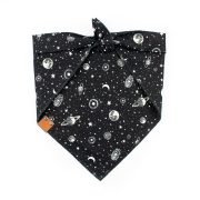 Astra galaxy glow in the dark dog bandana