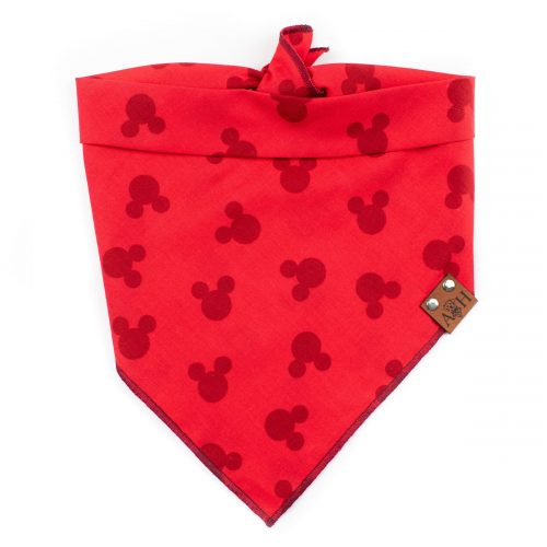 Red Mickey Dog Bandana