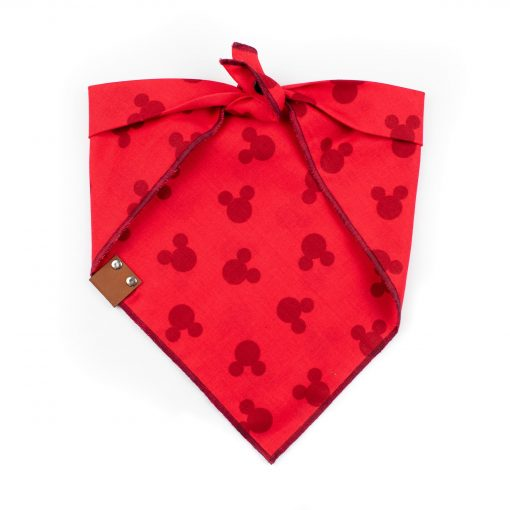 Red Mickey Dog Bandana