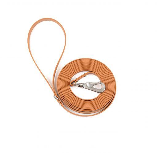 caramel brown biothane long line